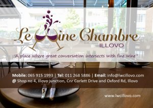 Le Wine Chambre Flyer side 1