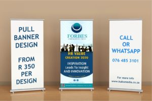 Pull up banner design ad