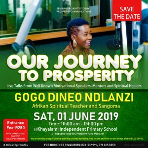 Gogo Dineo Poster